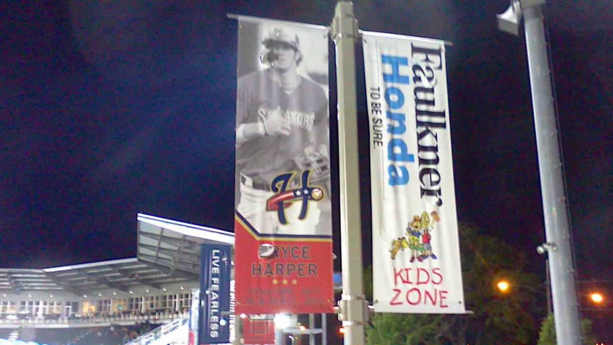 Bryce Harper banner