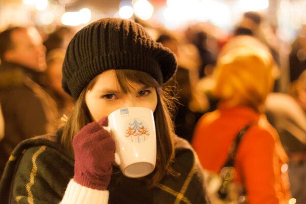 An Irish Girl at the Christmas Market