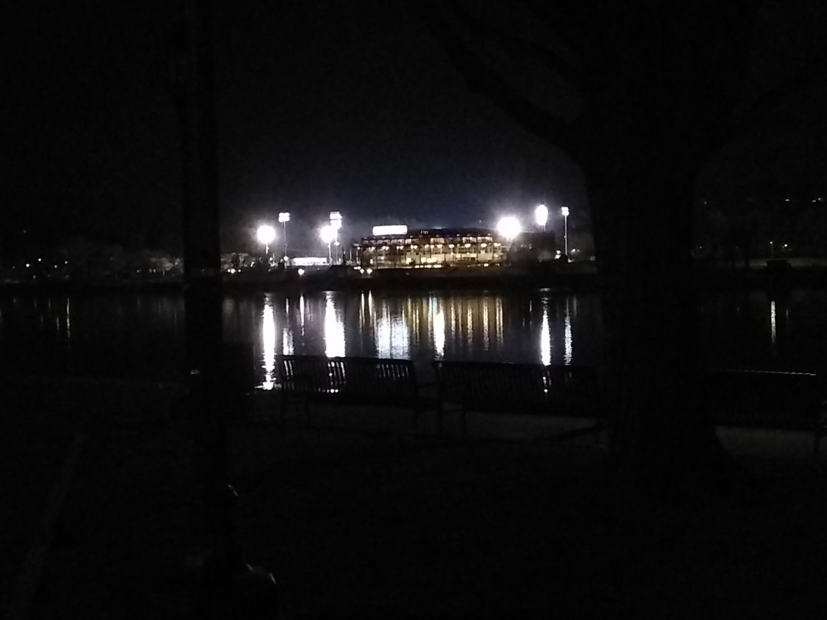 FNB Field from across the Susquehanna River