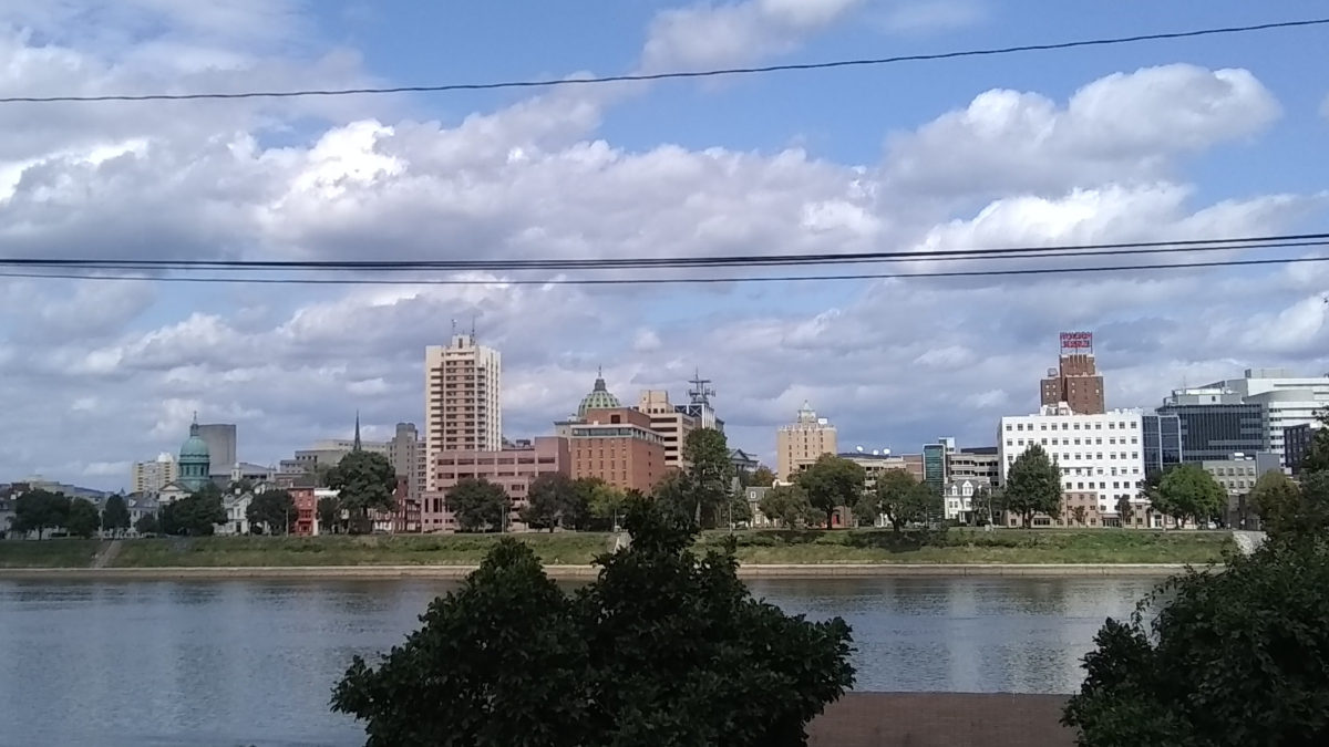 Harrisburg skyline, September 2019