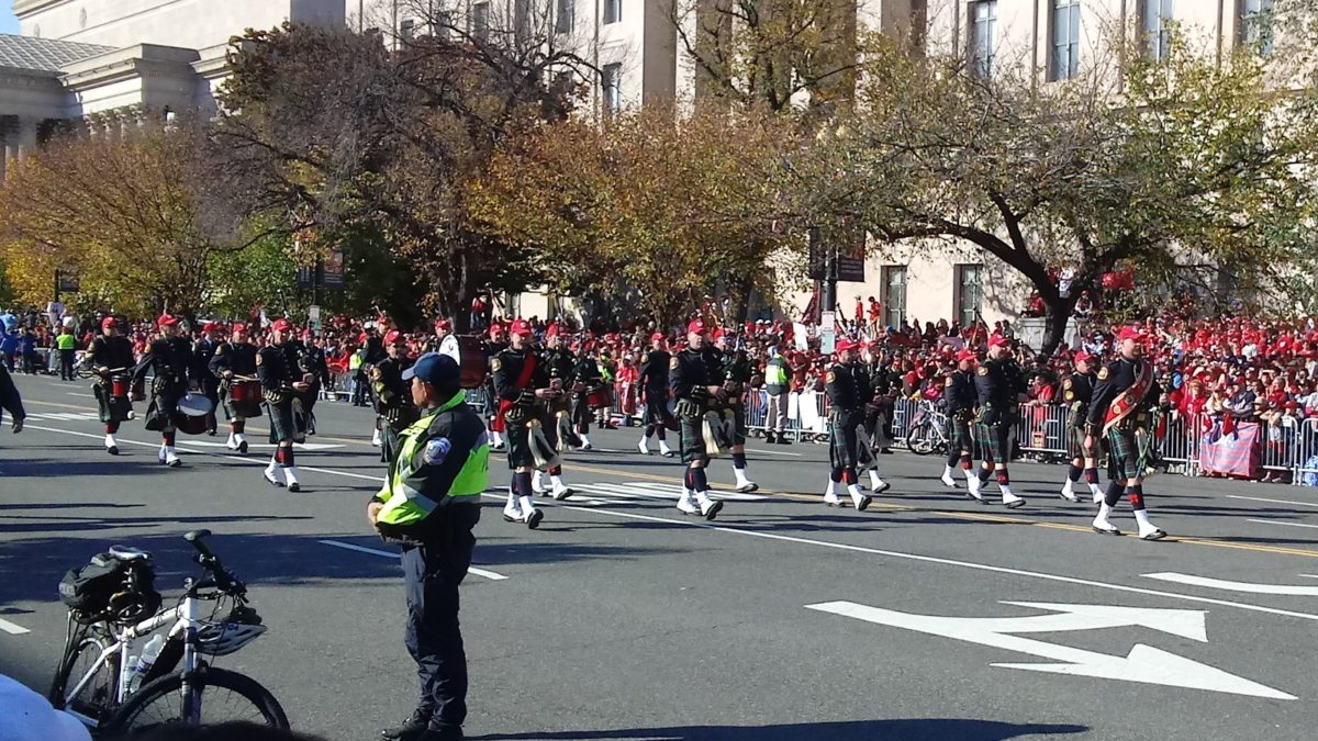 The Washington DC Fire Department Pipe & Drums Band