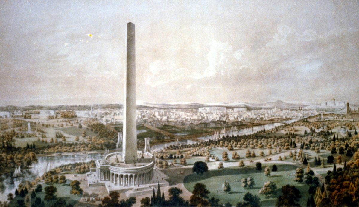 B.F. Smith's 1852 Landscape of Washington
