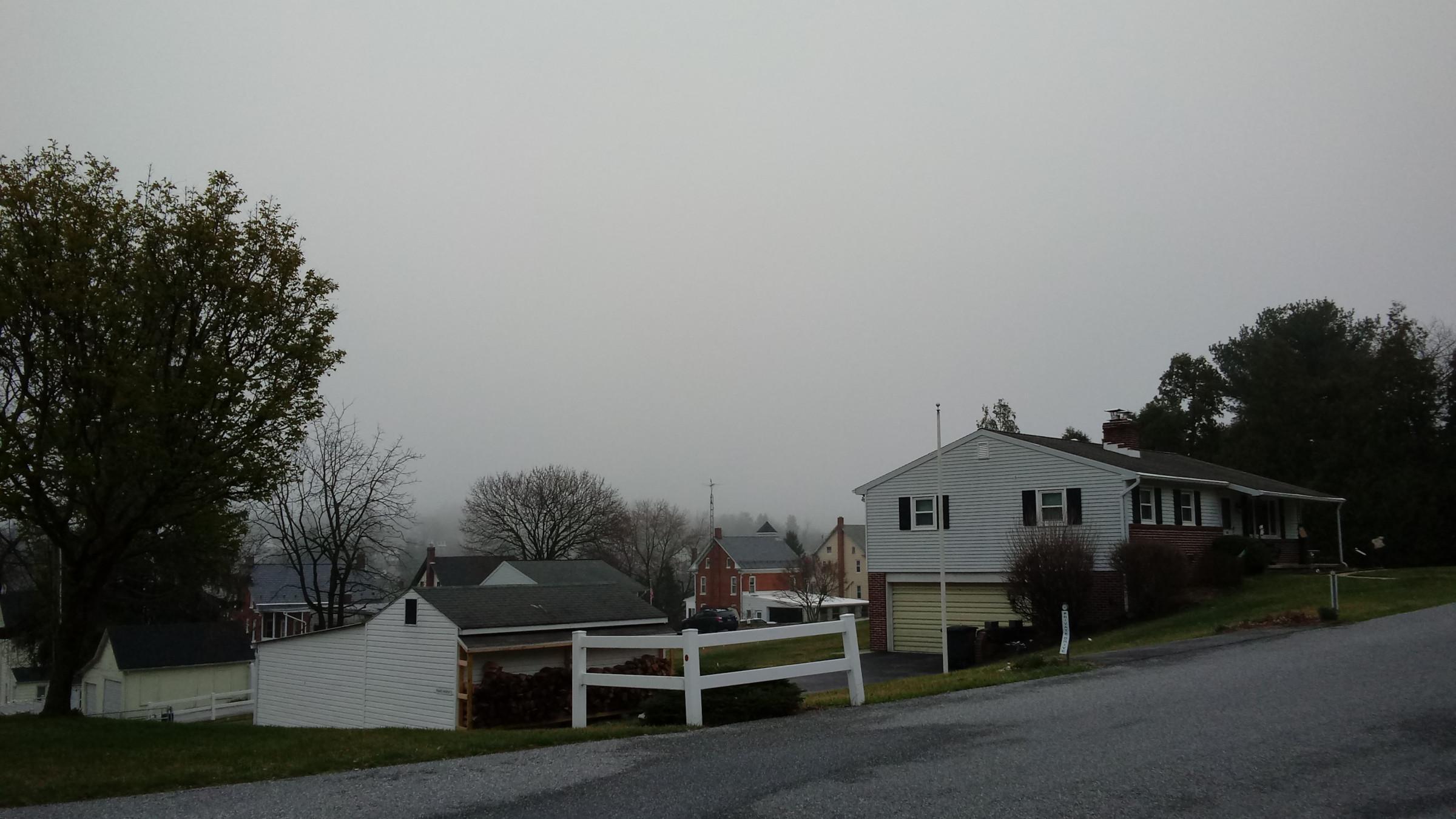 Yoe, lost in the fog