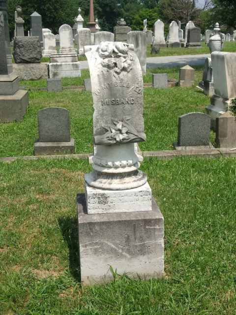 A pedestal monument