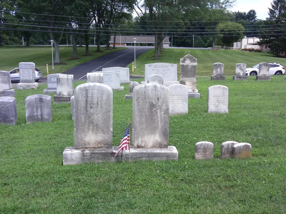 Jeremiah Henry Headstone