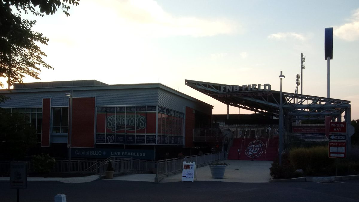 The entrance to FNB Field