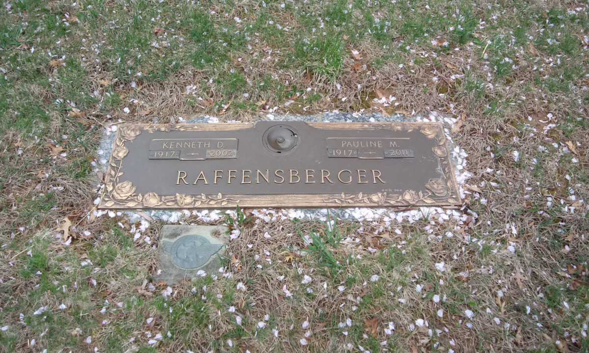 Grave of Ken Raffensberger