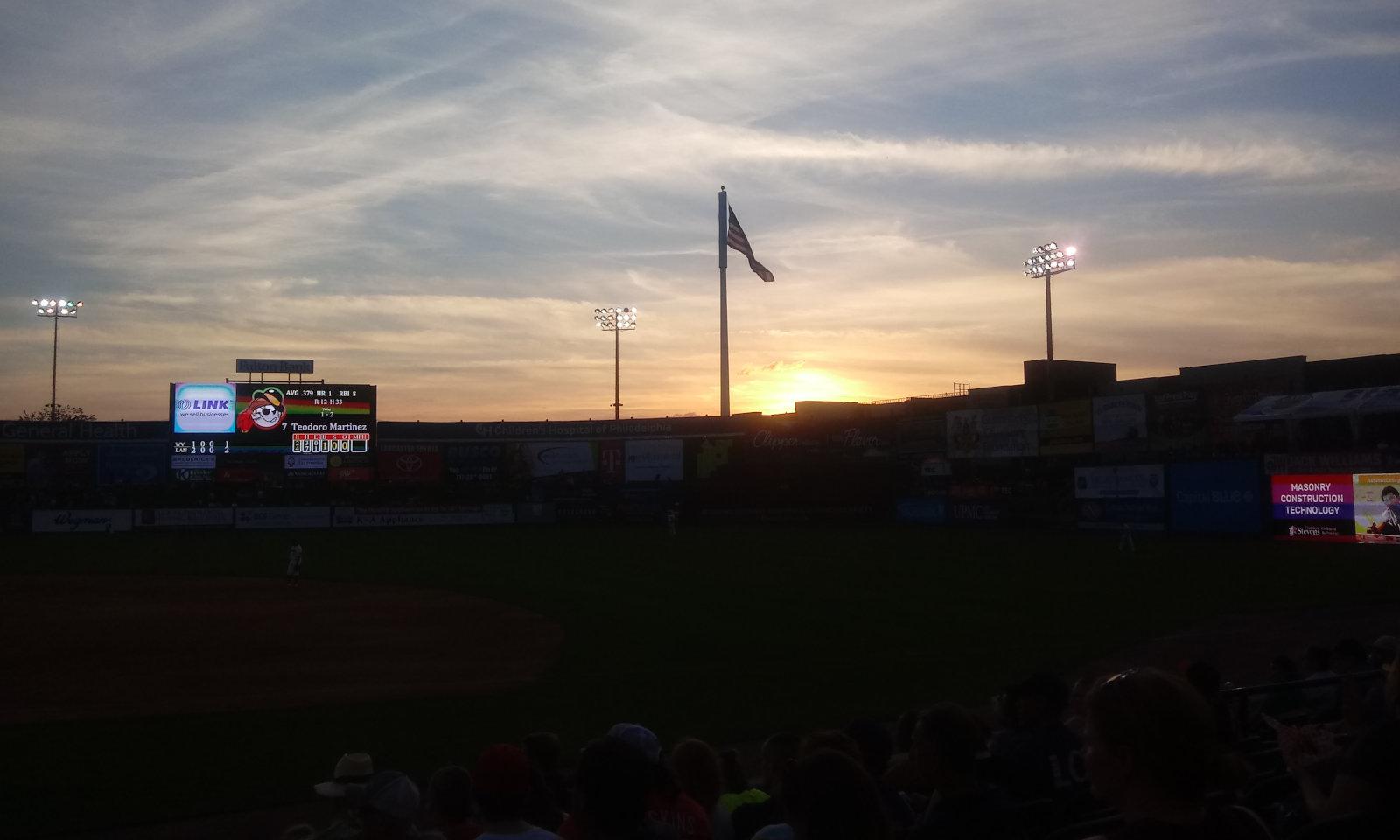 Sunset in Lancaster