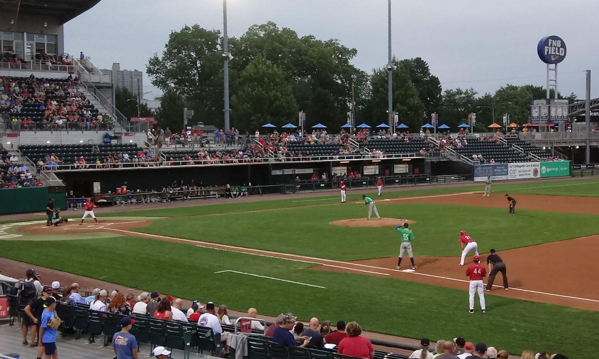 The third inning, Senators at bat